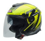 City motocyklová helma NZI AVENEW 2 DUO YELLOW BLACK