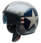 chopper helma Otevřená přilba NZI Rolling3