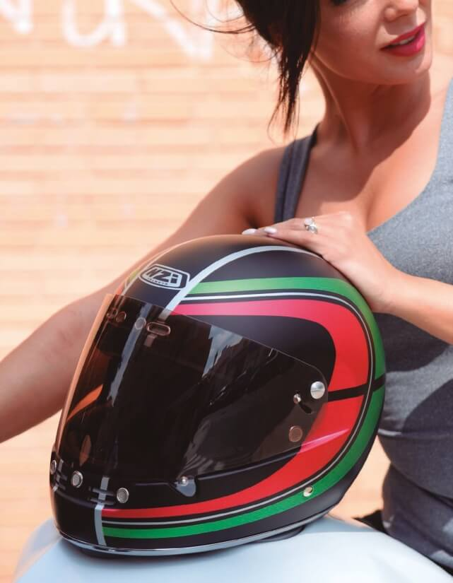 Integrální retro helma NZI